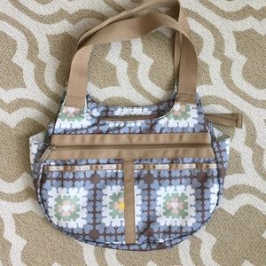 """Lesportsac floral bag in """"like new"""" condition"""